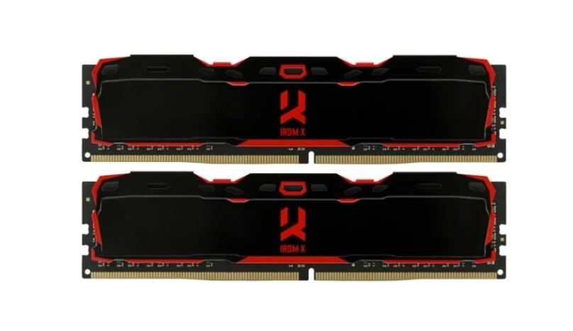 Оперативная память 8 GB 2 шт. GoodRAM IR-X3200D464L16S/16GDC