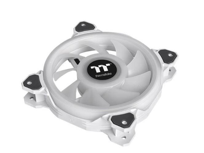 Комплект кулеров для корпуса Thermaltake Riing Quad 12 RGB Radiator Fan TT Premium Edition 3 Fan Pack - White