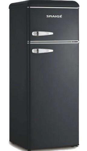 Холодильник Snaige FR27SM-PRJ30F Retro черный/серебро