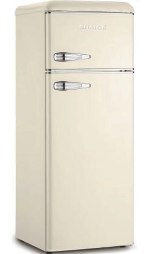 Холодильник Snaige FR27SM-PRC30F Retro крем/серебро