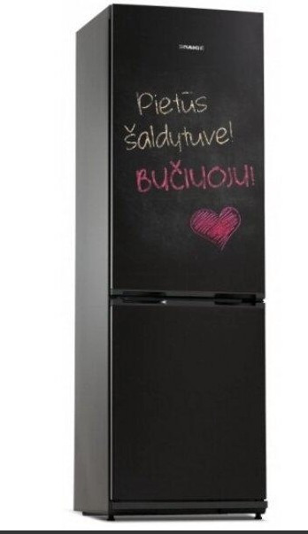 Холодильник Snaige RF34NG-P0JJNF No Frost черный