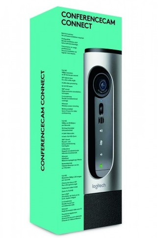 Веб камера Logitech ConferenceCam Connect Silver (960-001034)
