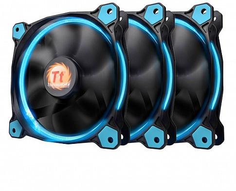 Комплект кулеров для корпуса Thermaltake Riing 12 LED Radiator Fan Blue 3 Pack