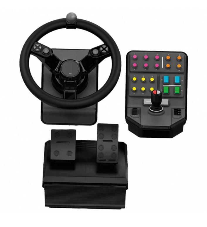 Комплект для управления тяжелой техникой LOGITECH G Heavy Equipment Bundle Farm Controller (945-000062)