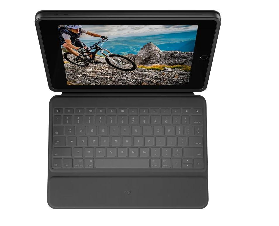 Клавиатура-чехол Logitech Rugged Folio (920-009619) для iPad (7,8 поколения)