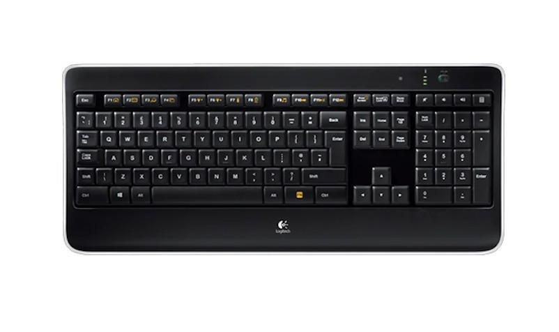 Беспроводная клавиатура Logitech K800 illuminated (920-002395)