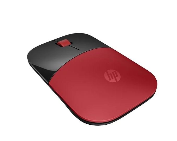 Беспроводная мышь HP Wireless Z3700 Black/Red USB (V0L82AA)