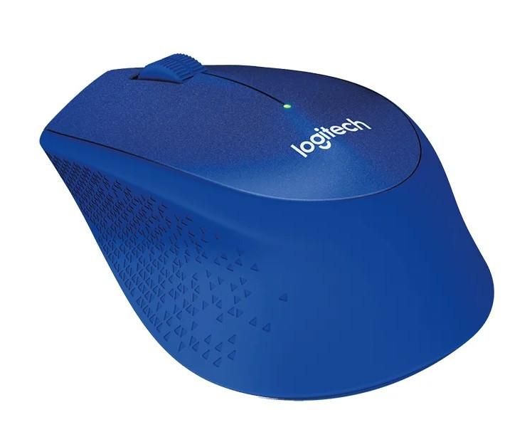 Беспроводная мышь Logitech M330 SILENT PLUS Blue (910-004910)