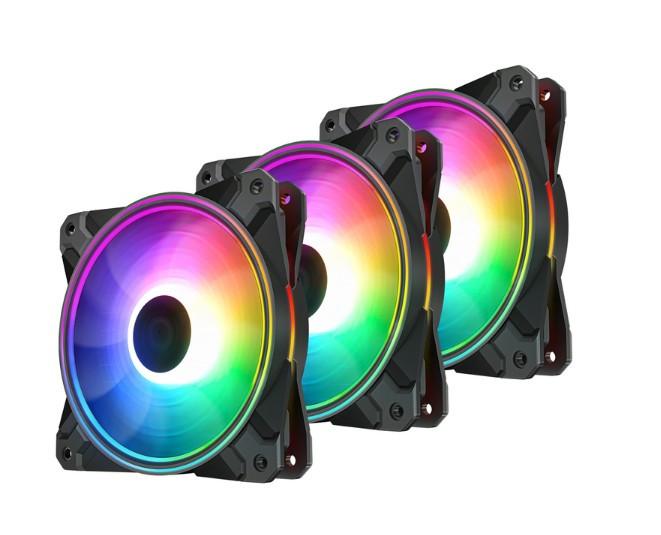 Комплект вентиляторов Deepcool CF120 PLUS комплект 3 шт