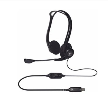 Компьютерная гарнитура Logitech PC 960 Headset Stereo USB 981-000100