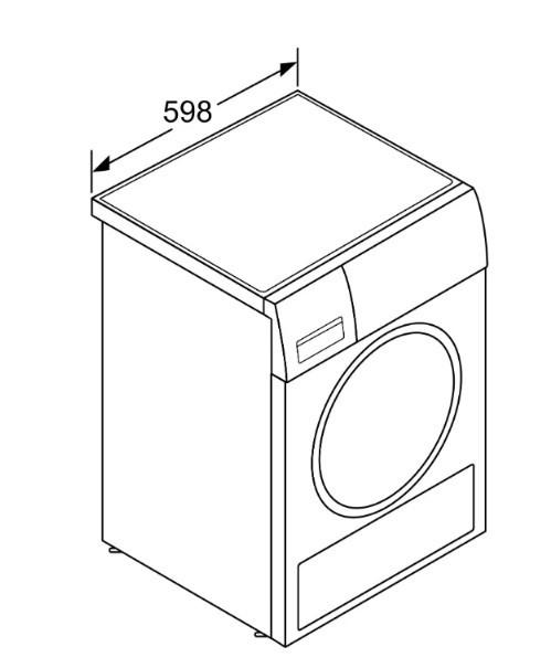 Сушильная машина BOSCH WTR87TESPL