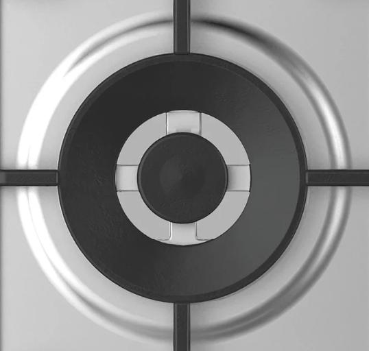 Газовая варочная панель Candy CHG6DWPX
