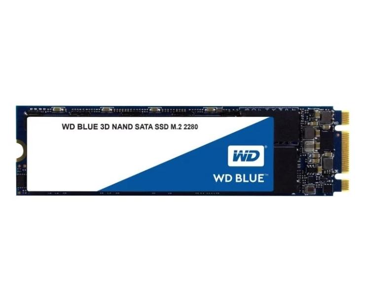 Твердотельный накопитель Western Digital WD BLUE 3D NAND SATA SSD 1 TB (WDS100T2B0B)