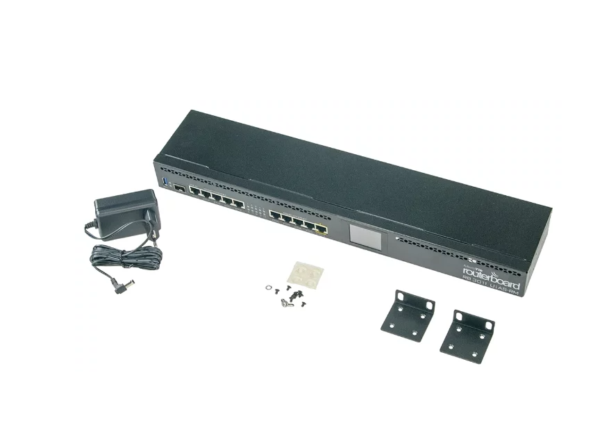Маршрутизатор Mikrotik RB3011UiAS-RM