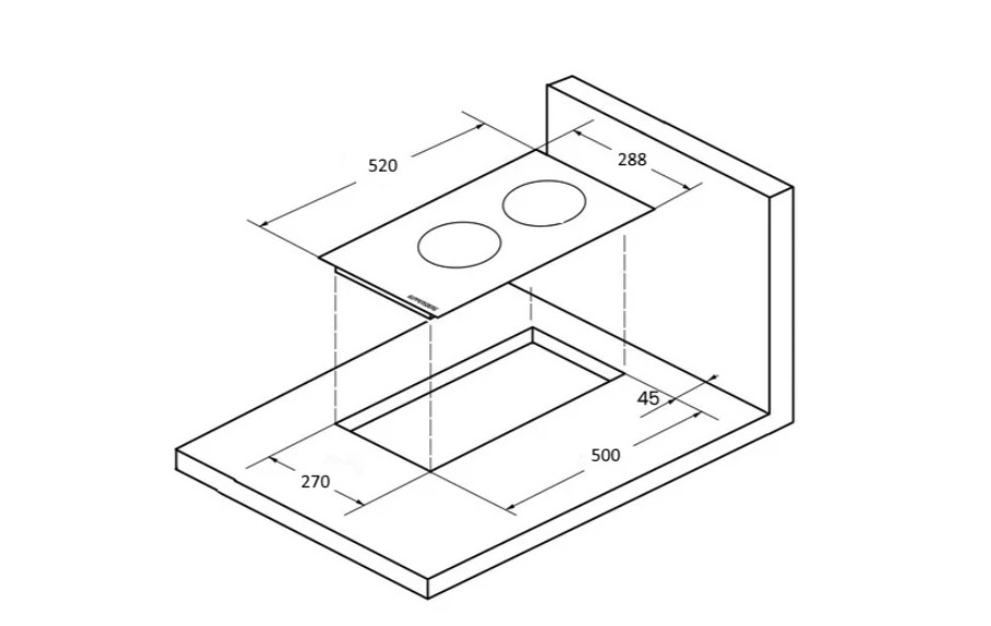 Индукционная варочная панель Kuppersberg ICO 302