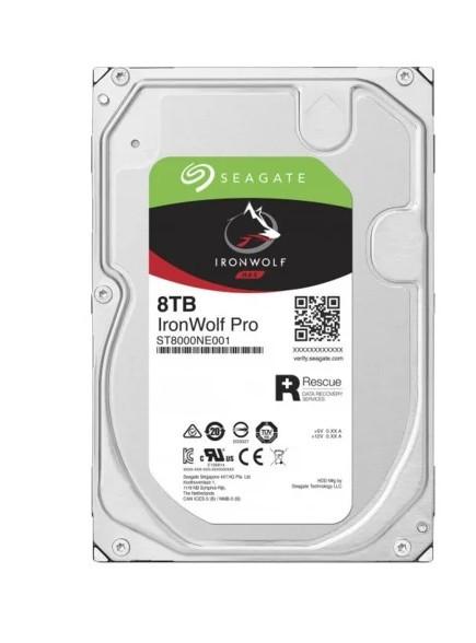 Жесткий диск 8000Gb (8TB) Seagate IronWolf Pro 256Mb, 7200 rpm, SATA3 (6GB/s) ( ST8000NE001 )