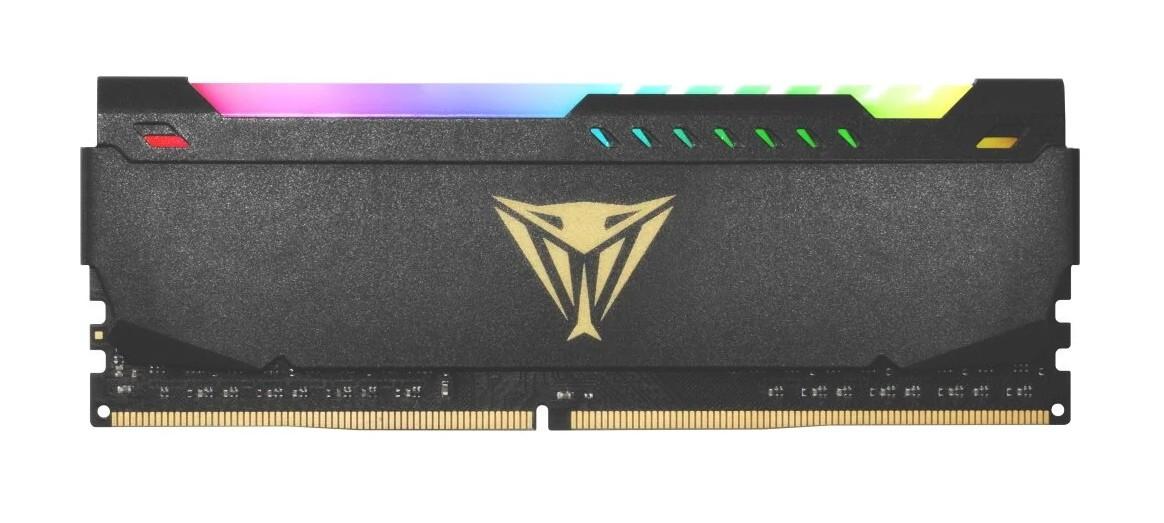 Оперативная память Patriot Memory VIPER STEEL RGB 8GB DDR4 3200MHz DIMM 288-pin CL18 PVSR48G320C8