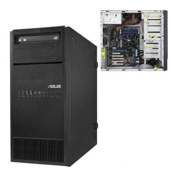 Серверная платформа ASUS TS100-E9-PI4 TOWER/ 1x1151/ DDR4/ 3.5HDD/ 2.5HDD