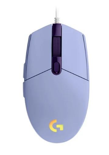 Игровая мышь Logitech G102 LIGHTSYNC Lilac USB (910-005854)