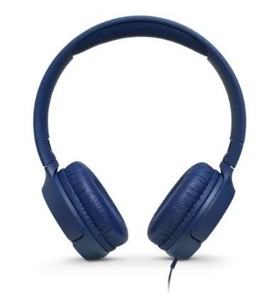 Наушники с микрофоном JBL T500 Blue