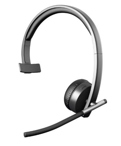 Беспроводные наушники с микрофоном Logitech H820e Wireless Headset Stereo Black (981-000517)