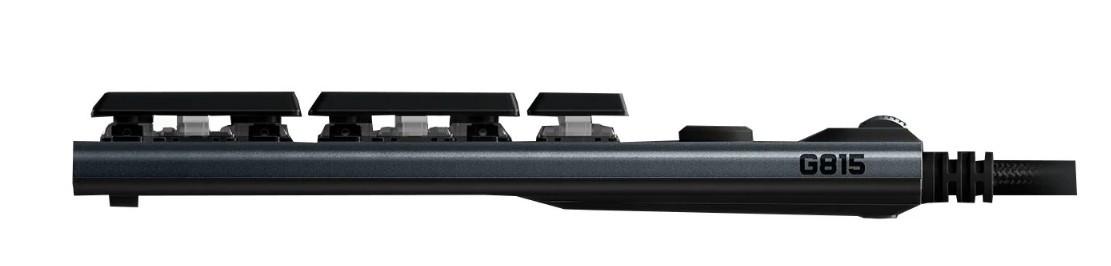 Игровая механическая клавиатура Logitech G815 (Tactile switch) с RGB подстветкой LIGHTSYNC (920-008991)
