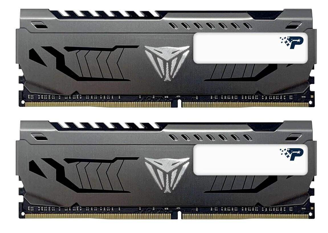Оперативная память Patriot Memory VIPER STEEL 16GB (8GBx2) DDR4 3000MHz PVS416G300C6K