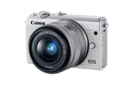 Фотоаппарат Canon EOS M100 WH 15-45