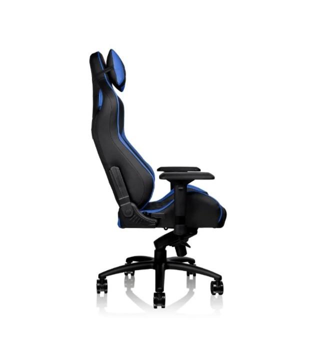Игровое кресло Thermaltake GTF100 чёрно-синее