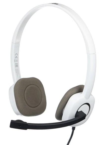 Компьютерная гарнитура Logitech H150 Headset Stereo Coconut 981-000350