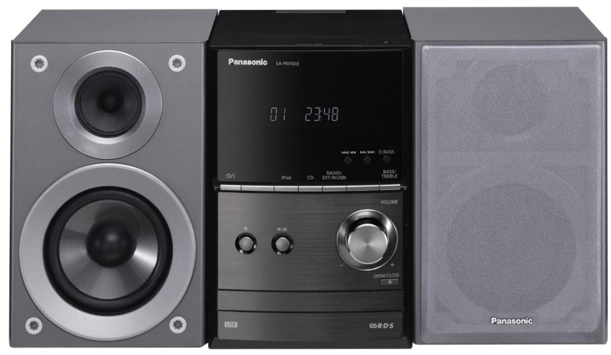 Музыкальный центр Panasonic SC-PM602 (silver)