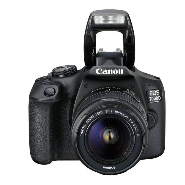 Фотоаппарат Canon EOS 2000D 18-55 IS III Black