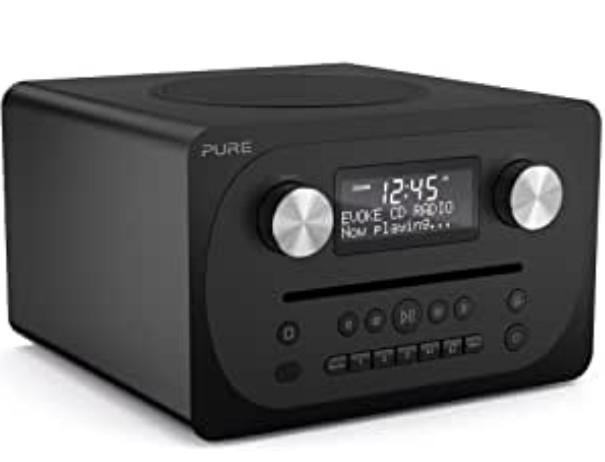Музыкальный центр PURE Evoke C-D4 (black)