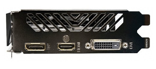 Видеокарта Gigabyte GeForce GTX 1050 Ti OC 4GB GDDR5 (GV-N105TOC-4GL)