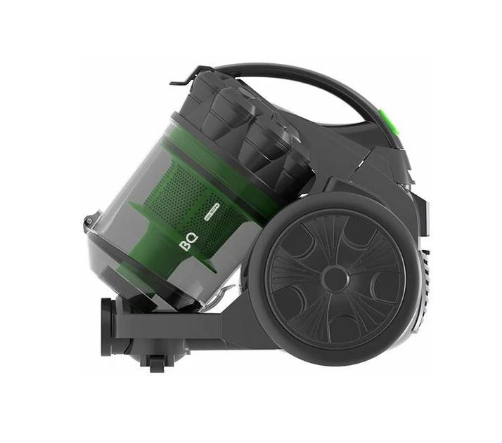 Пылесос BQ VC1806MC Черный-Зеленый