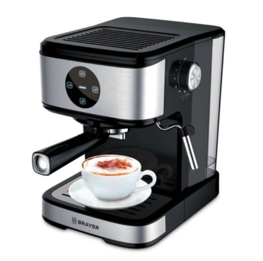 Кофеварка рожковая BRAYER BR1105