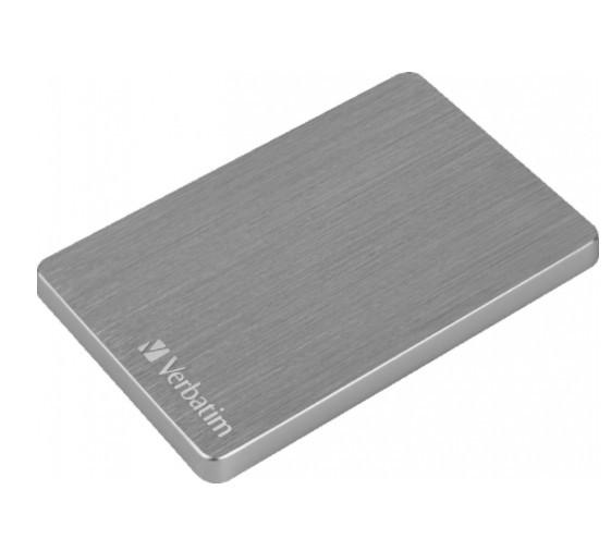 "Внешний жёсткий диск 1000GB Verbatim 2, 5"" (Store 'n' Go ALU серый) USB 3.2"