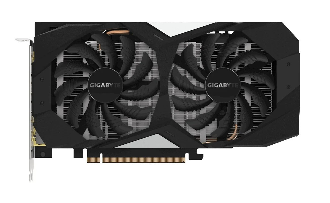 Видеокарта GIGABYTE GeForce GTX 1660 GDDR5 6144Mb 192-bit, PCI-E 16x 3.0.( GV-N1660OC-6GD )