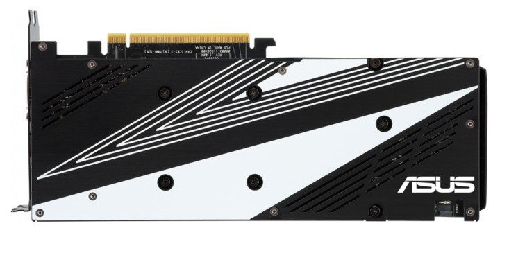 Видеокарта ASUS GeForce RTX2060 DUAL GDDR6 6144Mb 192-bit, PCI-Express 3.0 DUAL-RTX2060-O6G-E