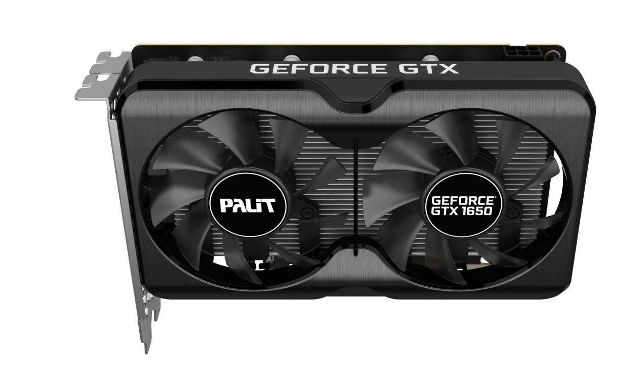 Видеокарта PALIT GeForce GTX 1650 DUAL OC GDDR6 4096Mb 128-bit, PCI-E 16x 3.0 NE61650S1BG1-1175A