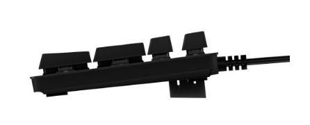 Игровая механическая клавиатура Logitech G413 Mechanical Black с красной подсветкой и 1 транзитным USB портом (920-008309)