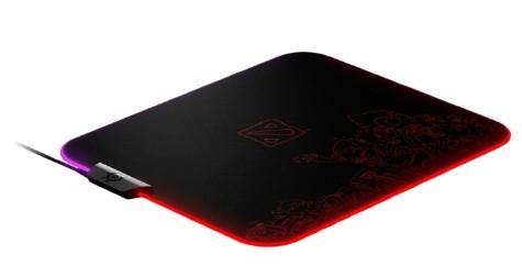 Коврик для мыши SteelSeries QcK Prism Cloth Dota 2 Edition (63832), 320x270x4mm
