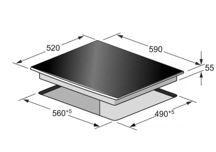 Индукционная варочная панель KAISER KCT 67 FI La Perle
