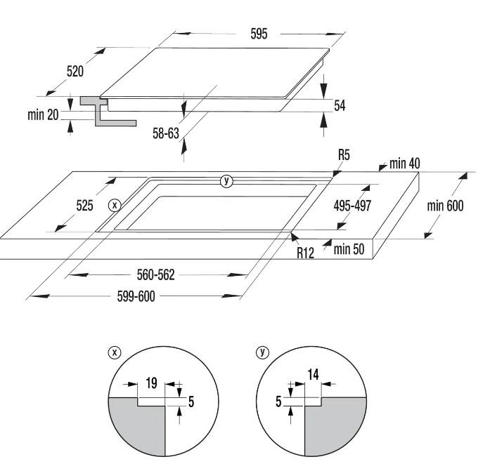 Индукционная варочная панель GORENJE IT640BSC