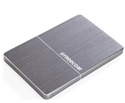 """Внешний жёсткий диск 2000GB Freecom 2, 5"""" (mHDD Mobile Drive Metal slim Space Grey) USB 3.0"""