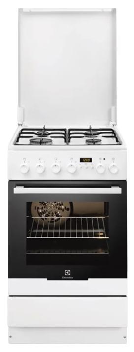Плита газово-электрическая ELECTROLUX EKK 54553OW