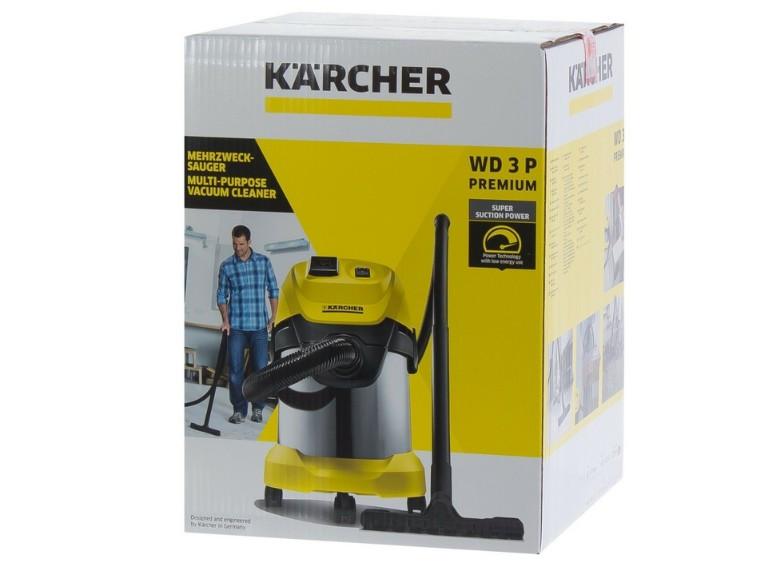 Пылесос Karcher WD 3 p Premium