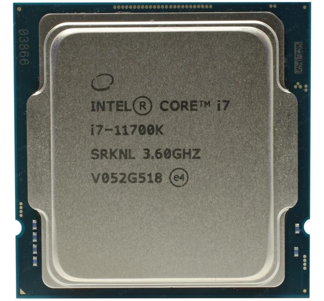 Процессор Intel Core i7-11700K (без кулера)