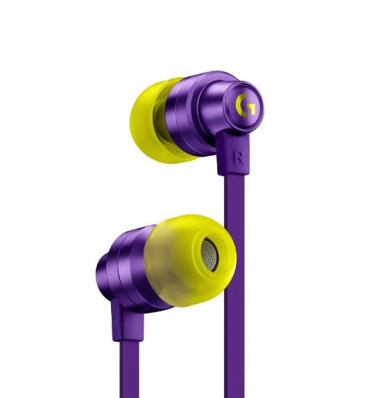 Игровые наушники с микрофоном Logitech G333 Purple