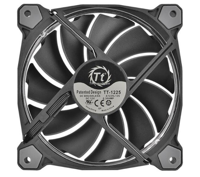 Комплект кулеров для корпуса Thermaltake Riing Plus 14 RGB Radiator Fan TT Premium Edition, комплект из 3-х кулеров (CL-F056-PL14SW-A)